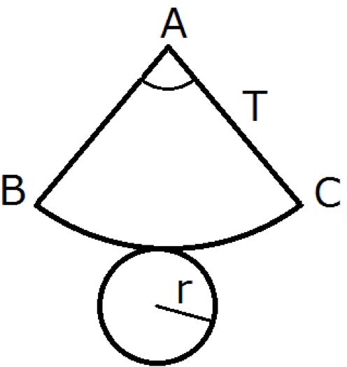 円錐の表面積の公式2