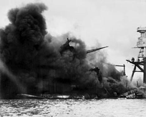 太平洋戦争の勢力図